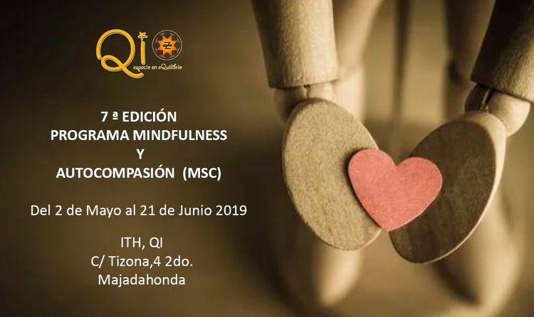 7ª Edición Programa Oficial MSC (Mindfulness y Autocompasión). Madrid 2019
