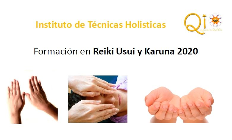 Formación en Reiki Usui y Karuna 2020. Madrid 2020
