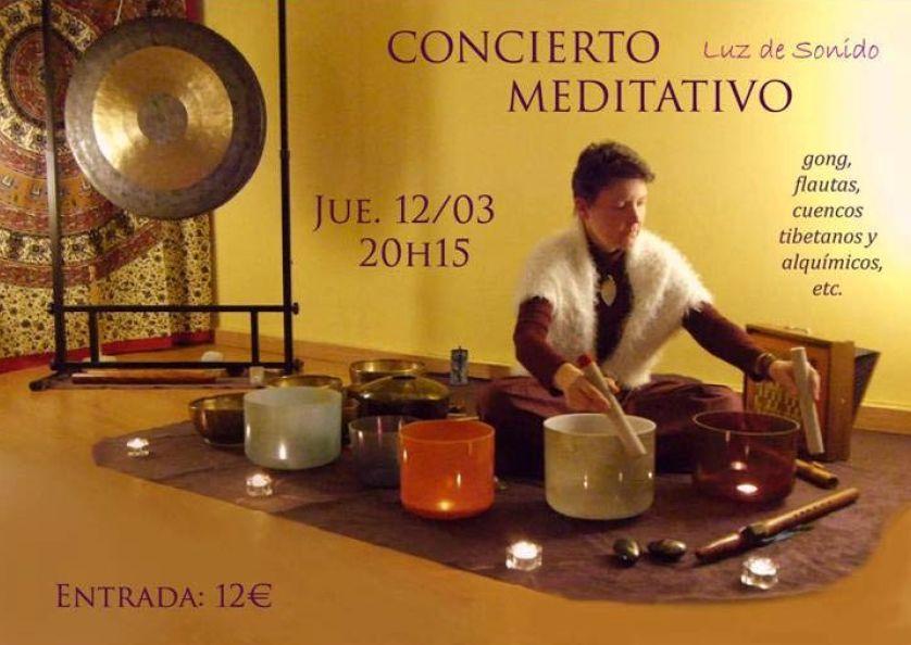 Concierto Meditativo Luz de Sonido Marzo 2020