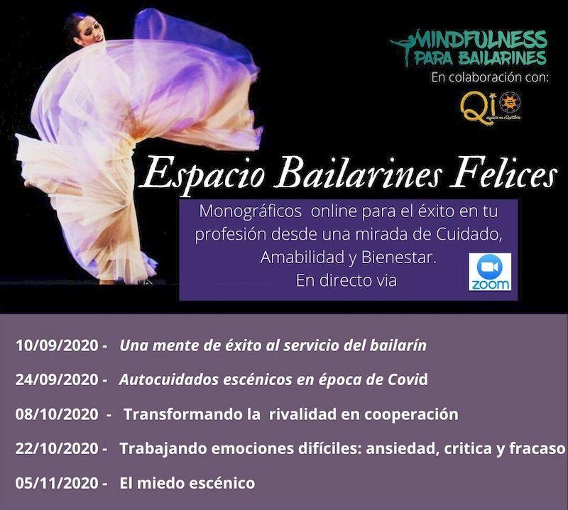 ESPACIO BAILARINES FELICES. Madrid 2020