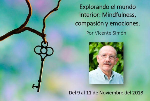 Taller Explorando el mundo interior: Mindfulness, compasión y emociones. Madrid 2018